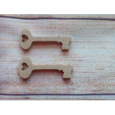 4mm MDF Mini Key